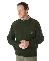 dunkelbrauner Pullover von Sherwood Forest