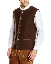 dunkelbrauner Pullover von Stockerpoint