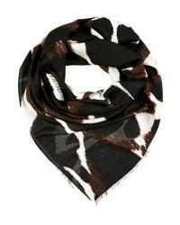 dunkelbrauner Schal von By Malene Birger