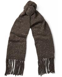dunkelbrauner Schal von Maison Margiela