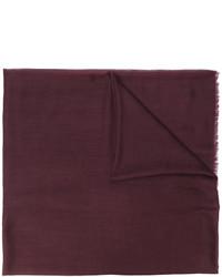 dunkelbrauner Schal von Salvatore Ferragamo