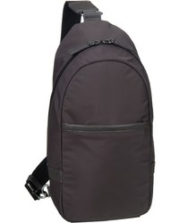 dunkelbrauner Segeltuch Rucksack von Picard
