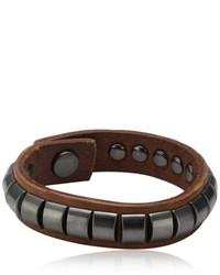 dunkelbraunes Armband