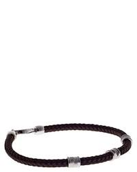Dunkelbraunes Armband von Babette Wasserman