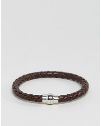 dunkelbraunes Armband von Jack and Jones