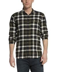 dunkelbraunes Langarmhemd von Scotch & Soda