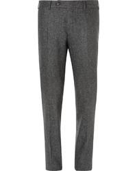 dunkelgraue Anzughose aus Seide von Canali