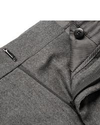 dunkelgraue Anzughose aus Seide von Tom Ford