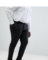 dunkelgraue Anzughose von ASOS DESIGN