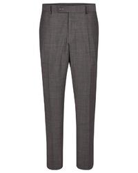 dunkelgraue Anzughose von Daniel Hechter