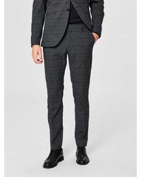 dunkelgraue Anzughose von Selected Homme