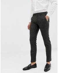 dunkelgraue Anzughose von Twisted Tailor