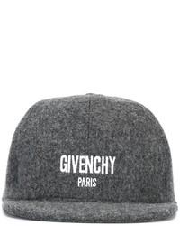 dunkelgraue Baseballkappe von Givenchy