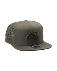 dunkelgraue Baseballkappe von Nike
