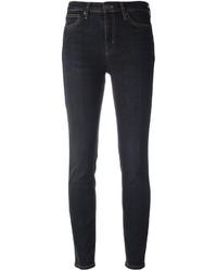 dunkelgraue enge Jeans aus Baumwolle von MiH Jeans