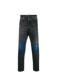 dunkelgraue bedruckte Jeans von Golden Goose Deluxe Brand