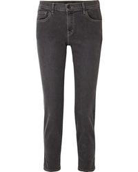 dunkelgraue Boyfriend Jeans von J Brand
