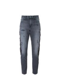 dunkelgraue Boyfriend Jeans von Sandrine Rose