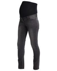 dunkelgraue enge Jeans von Anna Field