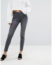 dunkelgraue enge Jeans von Esprit