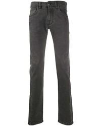 dunkelgraue enge Jeans von Etro