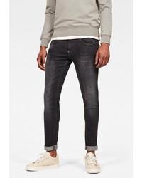 dunkelgraue enge Jeans von G-Star RAW