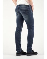 dunkelgraue enge Jeans von Le Temps des Cerises