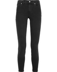 dunkelgraue enge Jeans von Madewell