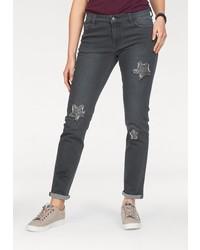 dunkelgraue enge Jeans von NAVIGAZIONE