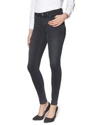 dunkelgraue enge Jeans von NYDJ