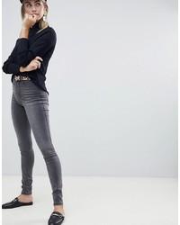dunkelgraue enge Jeans von Only