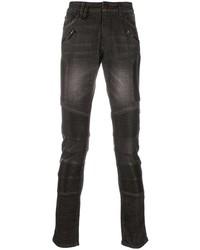dunkelgraue enge Jeans von Philipp Plein