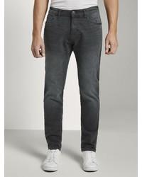 dunkelgraue enge Jeans von Tom Tailor