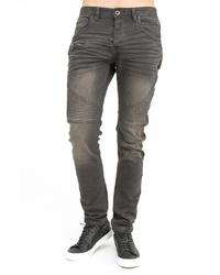 dunkelgraue enge Jeans von TRUEPRODIGY