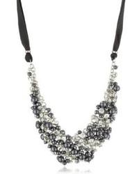dunkelgraue Halskette