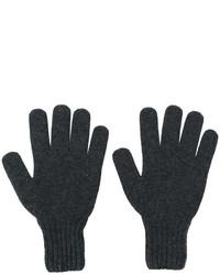 dunkelgraue Handschuhe von Drumohr