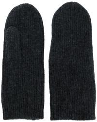 dunkelgraue Handschuhe von Isabel Marant