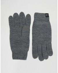 dunkelgraue Handschuhe von Jack and Jones