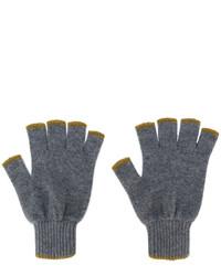 dunkelgraue Handschuhe von Pringle