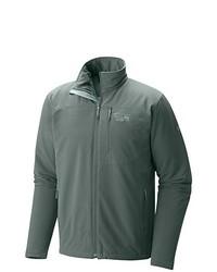 dunkelgraue Jacke von Mountain Hardwear