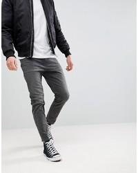 dunkelgraue Jeans von ASOS DESIGN