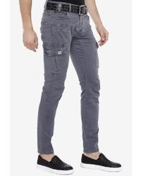 dunkelgraue Jeans von Cipo & Baxx