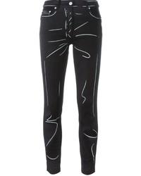 dunkelgraue Jeans von Moschino