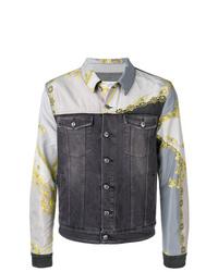 dunkelgraue Jeansjacke von Versace Collection