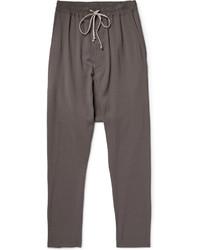 dunkelgraue Jogginghose von Rick Owens