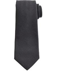 Dunkelgraue Krawatte