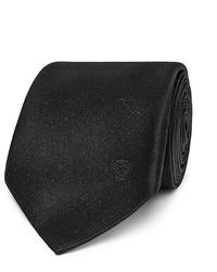 dunkelgraue Krawatte von Alexander McQueen