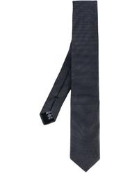 dunkelgraue Krawatte von Armani Collezioni