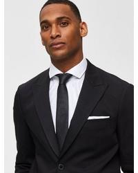 dunkelgraue Krawatte von Selected Homme