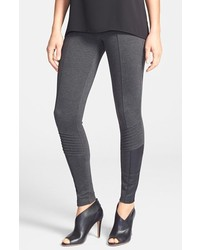 dunkelgraue Leggings